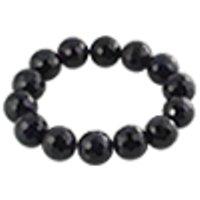 Amethyst bracelet round cut 14mm /1pc