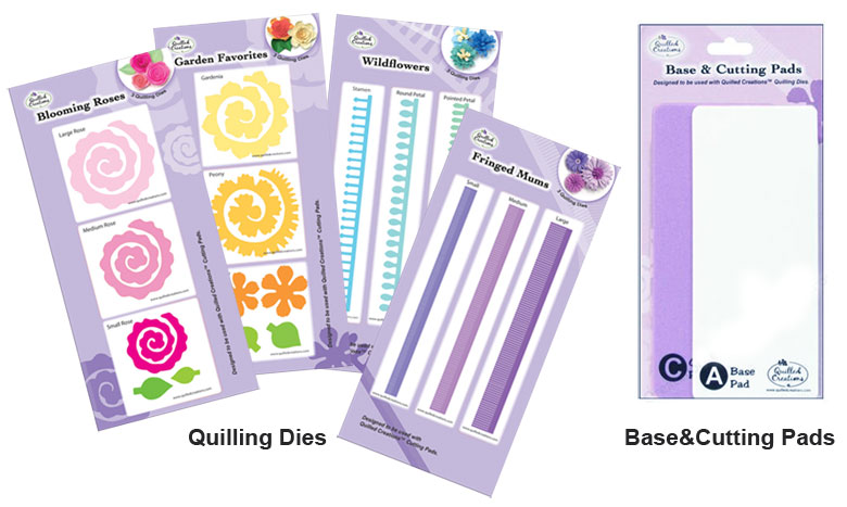 Quilled Creations Fringed Mums Quilling Die